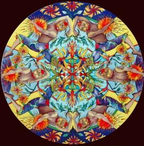 Summer Solstice Mandala
