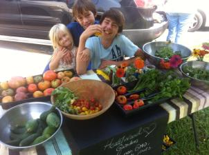 Heartwood munchkins with some of our Harvest